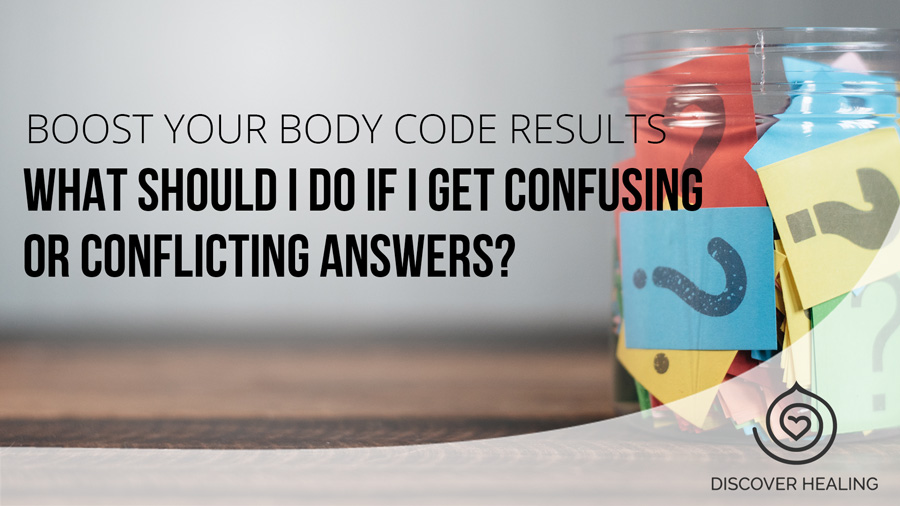 What should I do if I get confusing or conflicting answers?