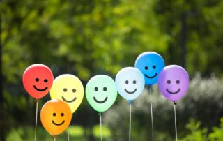 pleased people balloons